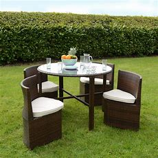 Outdoor Table And Chairs Set & Tangkula 5 Piece Dining Set
