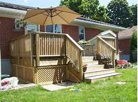build a porch Building a Wooden Deck Over a Concrete One: 6 Steps (with Pictures)