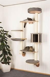 Weinregal Für Die Wand : wandkratzbaum f r katzen stilvolle kratzb ume f r die wand ~ Markanthonyermac.com Haus und Dekorationen