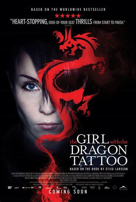 girl   dragon tattoo  poster