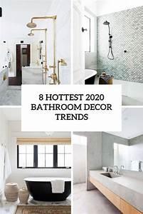 8, Hottest, 2020, Bathroom, Decor, Trends