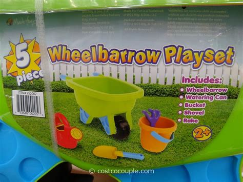 wheelbarrow playset