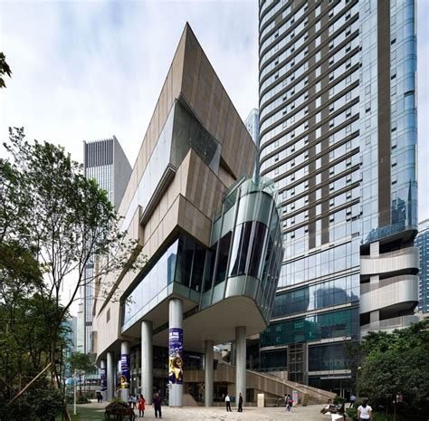 aedas groups  structures   create chengdus urban oasis
