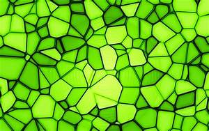 Download, Wallpapers, Green, Mosaic, 4k, Artwork, Mosaic, Texture, Green, Background, Abstract