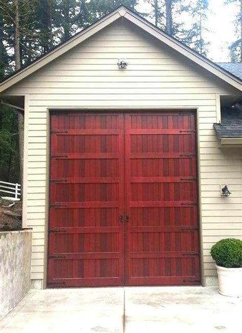 10 ft garage door oversized doors non warping patented honeycomb panels
