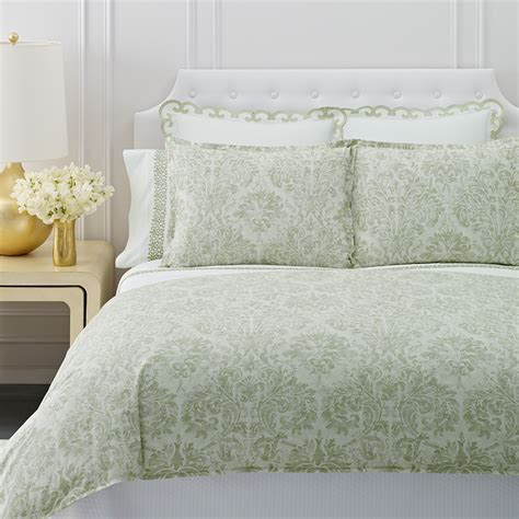 Damask Duvet by Aerin Watercolor Damask Duvet Cover From Beddingstyle
