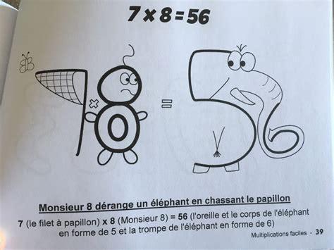 Multiplications Faciles  Pour Apprendre Les Tables De