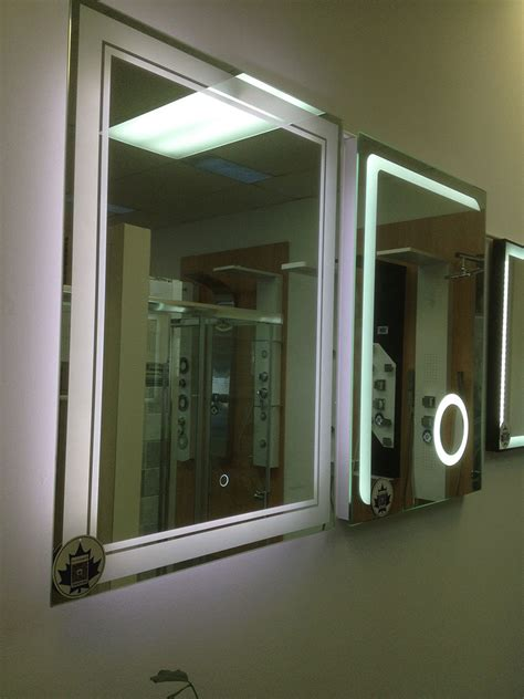 Backlit Bathroom Mirror Canada by Frequently Asked Question About Led Backlit Mirrors