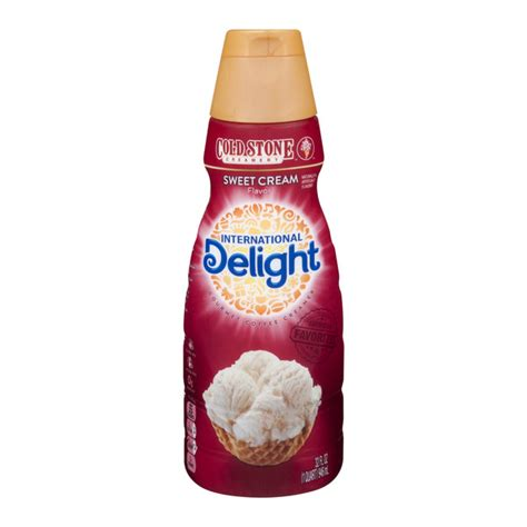 Cold stone creamery and the medallion design are trademarks of cold stone creamery, inc. Save on International Delight Cold Stone Coffee Creamer Sweet Cream Refrigerated Order Online ...