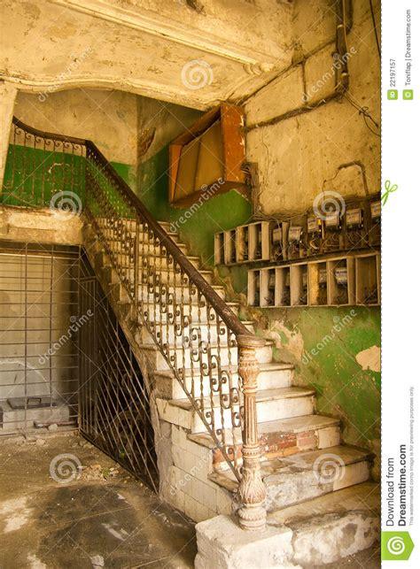 interior building havana vieja cuba royalty  stock