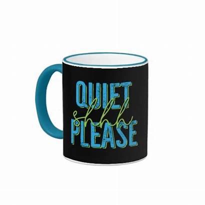 Shhh Quiet Mug Please