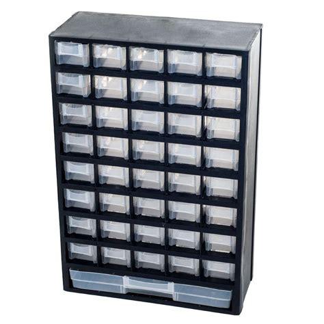 Sterilite 4 Drawer Cabinet Home Depot by Sterilite Footlocker Storage Box 18429001 The Home Depot