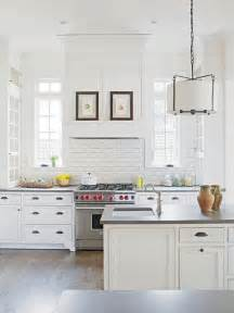 white kitchen backsplash tile chic white kitchens for 2014
