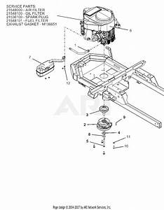 Ariens 915330  016000 -   Ikon X 52 Ce Parts Diagram For Engine