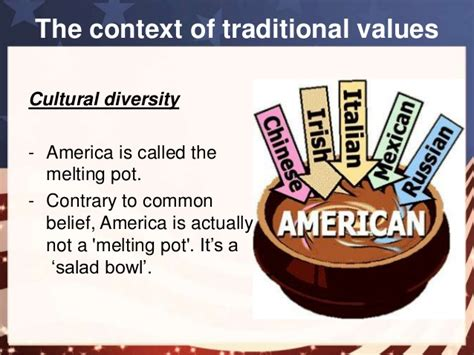 melting pot salad bowl american belief and values