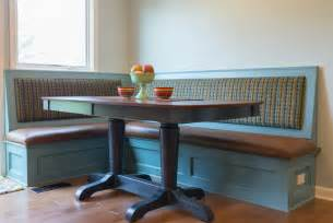 Kitchen Corner Bench Seating With Storage by Bench Seating And Dining Table Traditional Dining Room