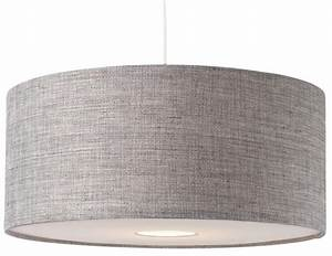 Bnwt modern grey textured large drum diffuser ceiling