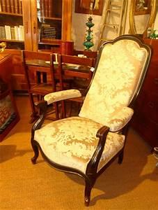 Fauteuil Style Voltaire : fauteuil ancien de style voltaire poque napol on iii ~ Teatrodelosmanantiales.com Idées de Décoration