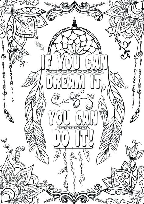 inspirational quotes coloring pages  getcoloringscom  printable colorings pages