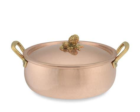 ruffoni copper artichoke handle braiser   williams