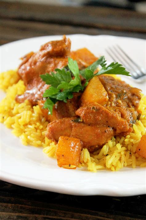indian chicken indian butter chicken with yellow rice creole contessa