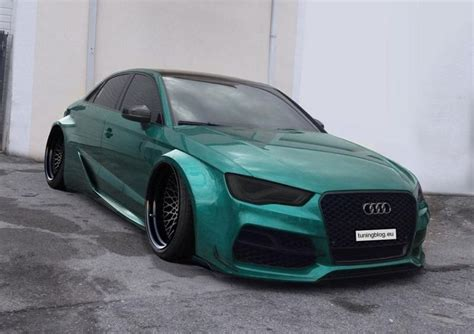 Widebody Audi A3 S3 Limousine By Tuningblog.eu