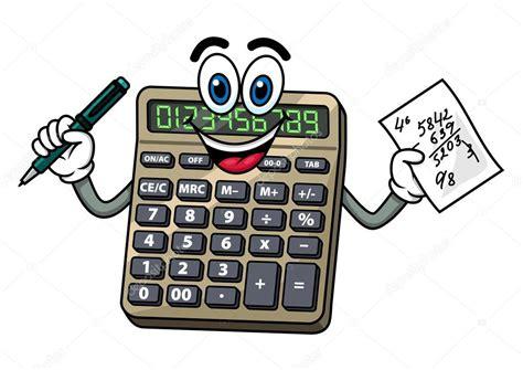 Pictures: cartoon calculator   Cartoon calculator with pen ...
