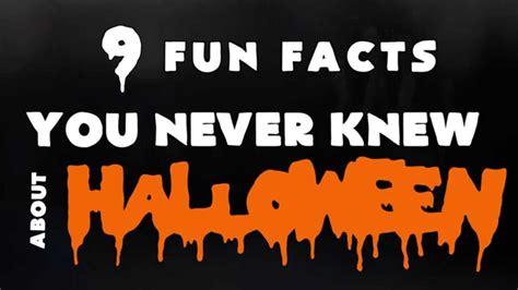Fun Facts Halloween Youtube