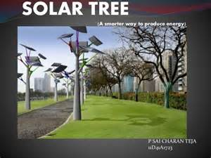 ppt on solar tree
