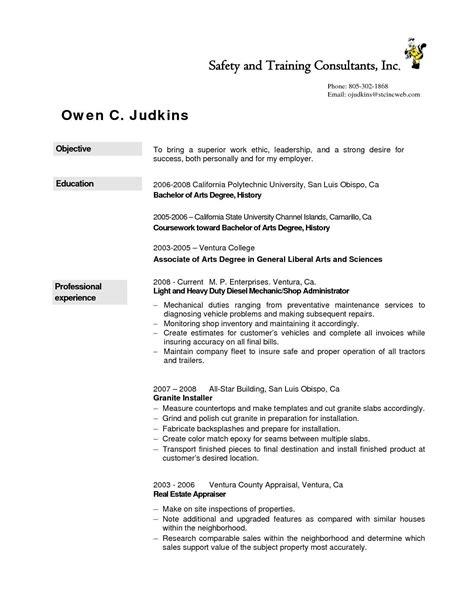 resume examples diesel mechanic resume examples job