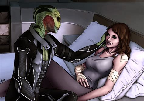 Thane And Shepard By Mariahgem On Deviantart