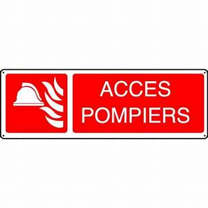 Panneau Accès Pompiers Stocksignes