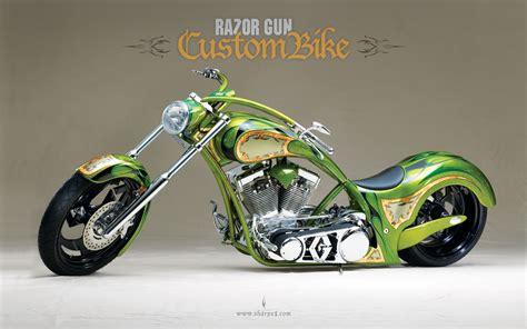 Custom Motorcycle Hd Wallpaper