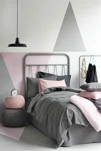 chambre en gris et blanc nos astuces en photos pour peindre une pièce en deux