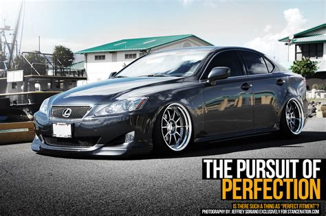 slammed lexus is250 the pursuit of perfection stancenation form gt function