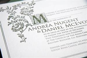 old english magva design letterpress With classic english wedding invitations