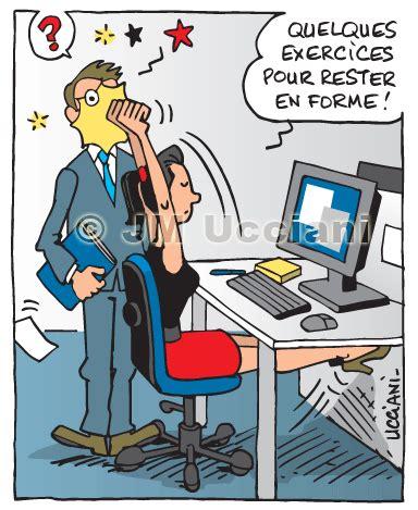 exercice au bureau jm ucciani dessinateur santé dessins de communication