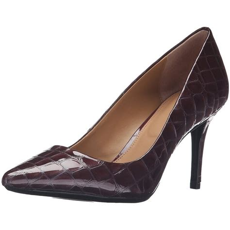 shop calvin klein womens gayle pointed toe classic pumps