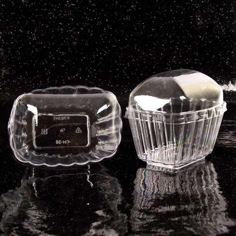 canape pvc disposable canape dishes dessert cups clear plastic lids