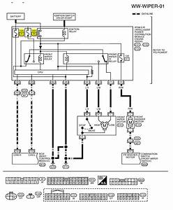 Windshield Wiper Motor Wiring Diagram