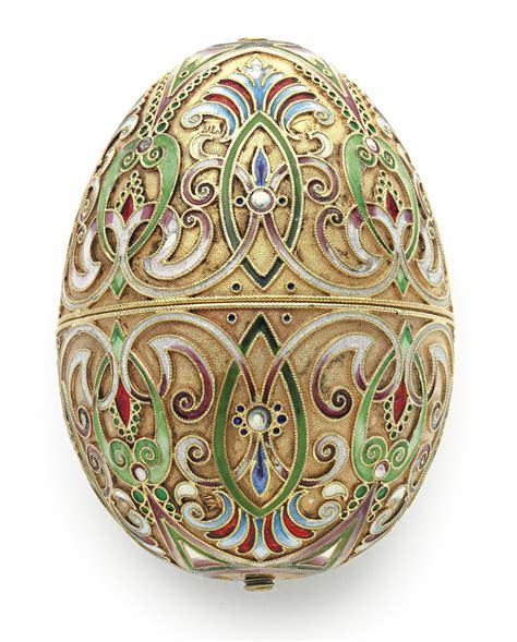 russian silver easter egg faberge eggs egg art fabrege