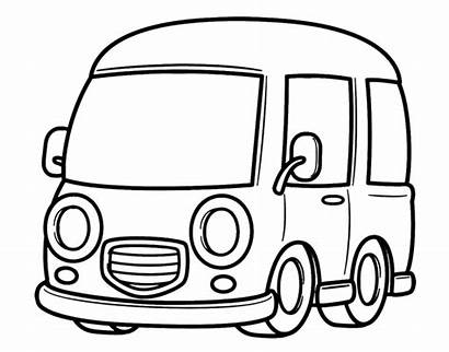 Van Coloring Pages Vans Classic Printable Drawing