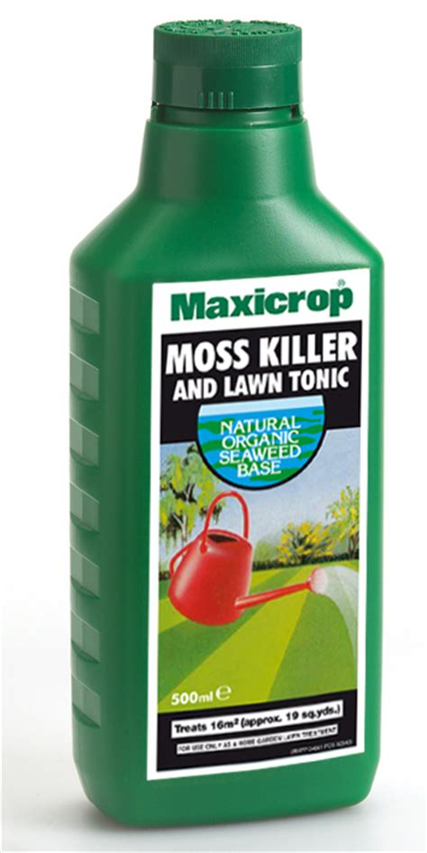 moss killer gardening maxicrop uk natural seaweed fertiliser products