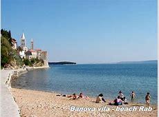 beaches croatia island rab
