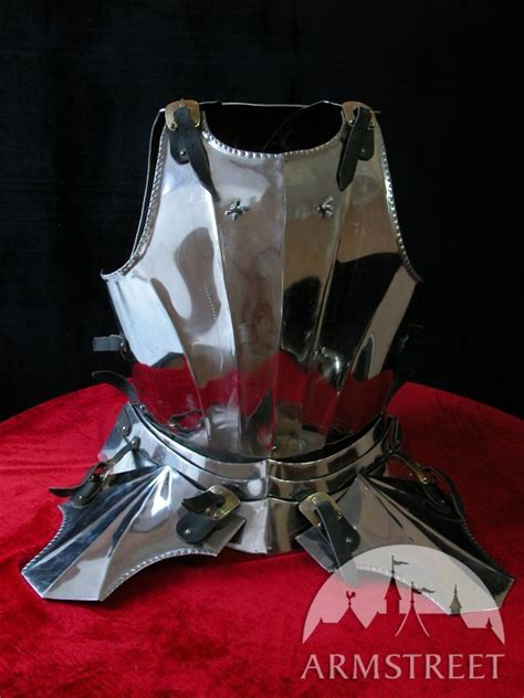 medieval gothic style cuirass   plate  sale