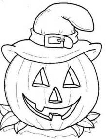 Ausmalbilder Halloween Kürbis Laterne zum ausdrucken