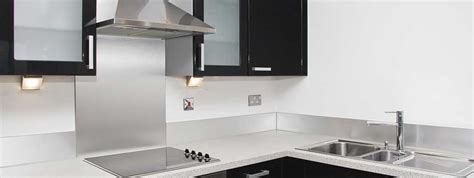 kitchens with stainless steel backsplash stainless steel kitchen backsplash panels 8801