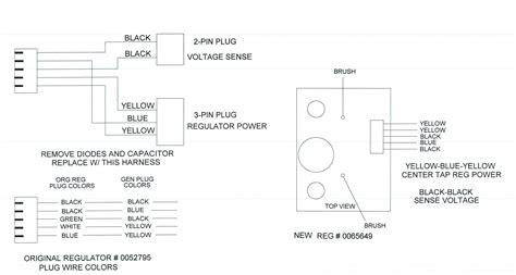 coleman powermate 0065649 voltage regulator replaces
