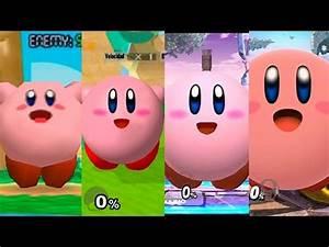 Super Smash Bros Wii U Kirby Evolution YouTube