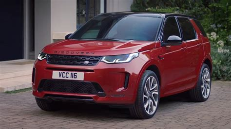land rover discovery sport unveiled youtube